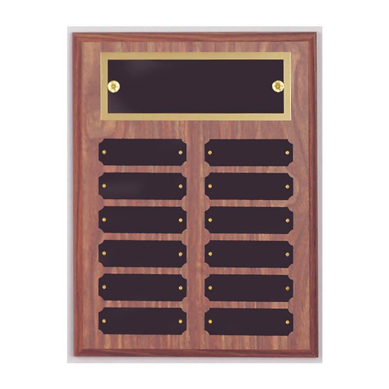 9x12 Perpetual Name Plaque