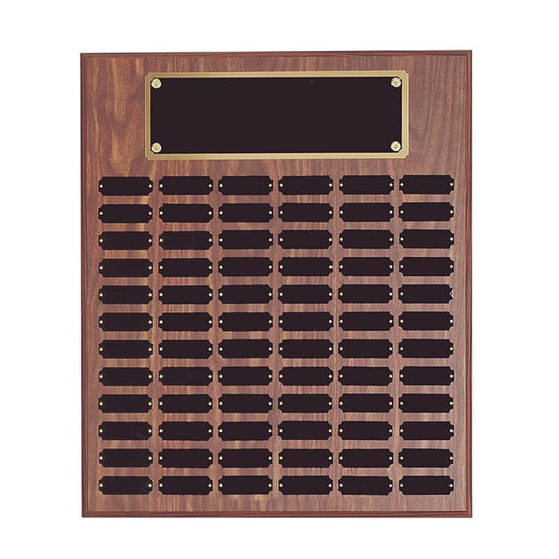 18x24 Perpetual Name Plaque - Black
