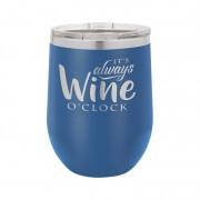 Blue Polar Camel Stemless Wine Cup