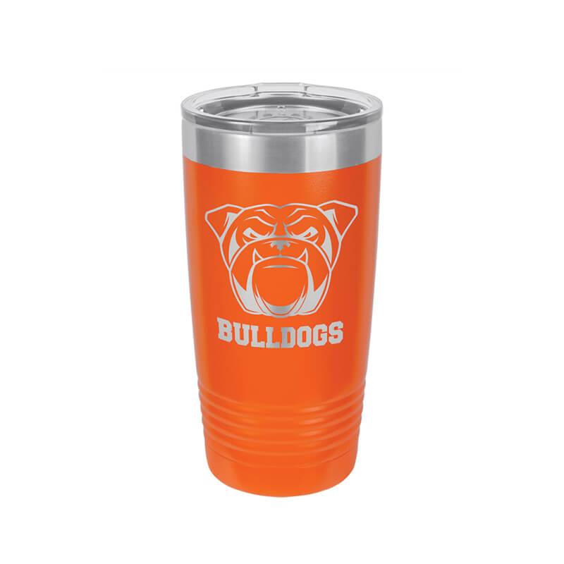 Orange Polar Camel Insulated Mug