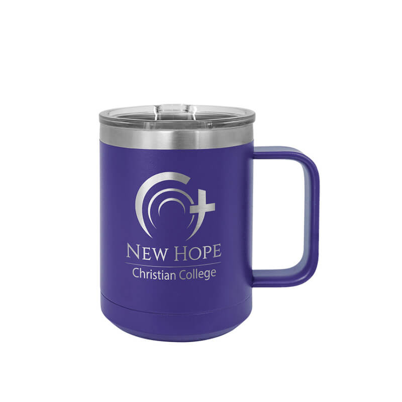 Purple Polar Camel Insulated Mug