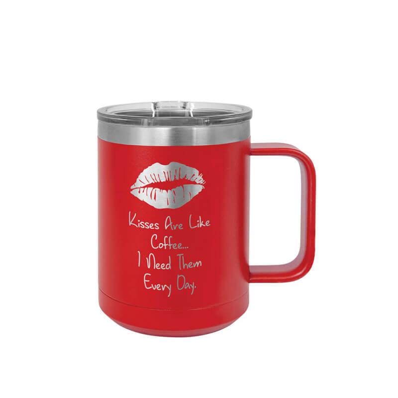 Red Polar Camel Insulated Mug