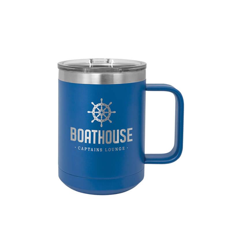 Royal Blue Polar Camel Insulated Mug