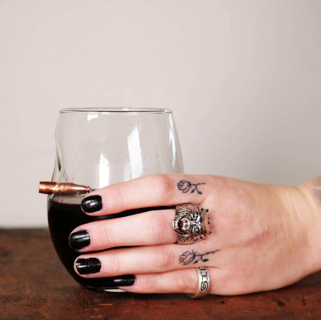 BenShot Freedom Wine Glass