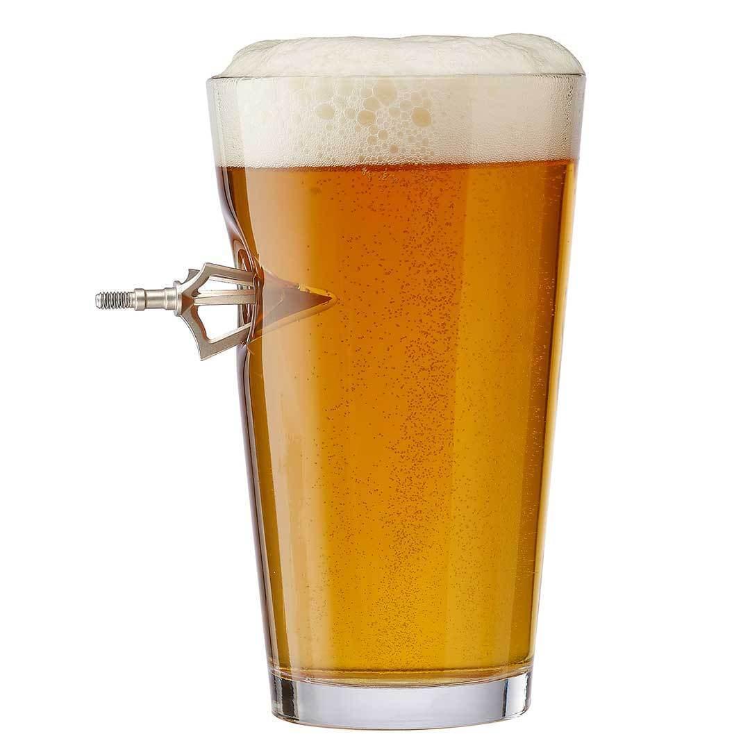 BenShot Broadhead Pint Glass