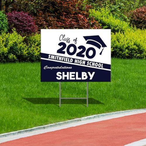 2020 Grad Lawn Sign - Classic